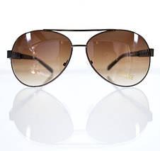 Солнцезащитные очки-авиаторы для женщин с увеличенными линзами, фото 2