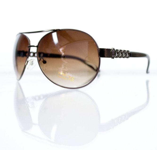 Солнцезащитные очки-авиаторы для женщин с увеличенными линзами