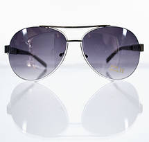 Солнцезащитные очки-авиаторы для женщин с увеличенными линзами, фото 3