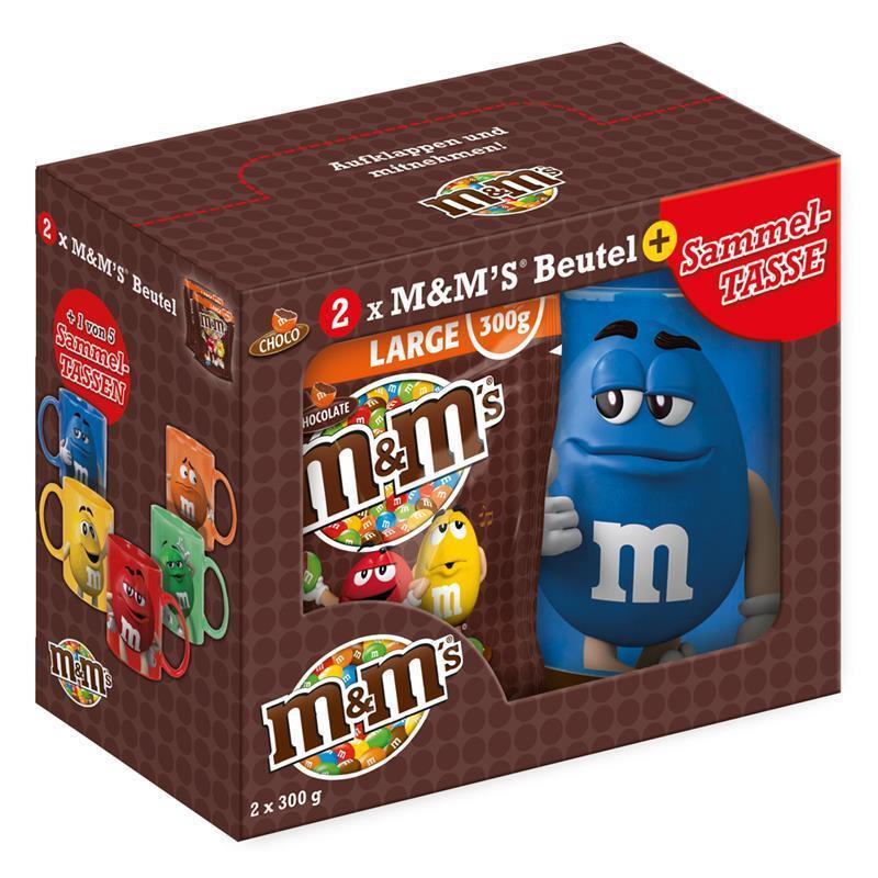 Подарочный набор M&M's с кружкой, 460 г.