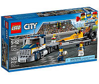 LEGO® City Грузовик для перевозки драгстера 60151