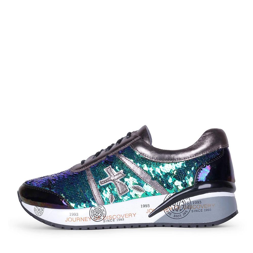 Женские кроссовки Ventura Shoes зеленые