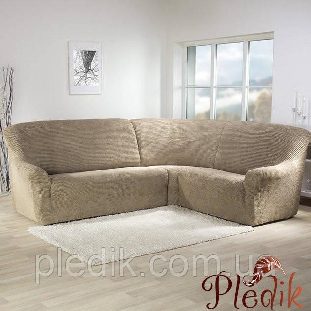 Чехол натяжной на Угловой диван
