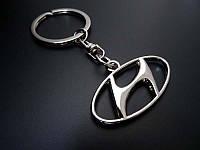 Брелок на ключи с логотипом Hyundai (Хюндай)