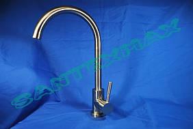 Смеситель для кухни Falanco 2861 из нержавеющей стали