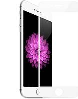 Защитное стекло 3D для Apple iPhone 6 Plus White