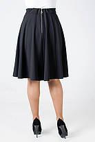 Женская юбка Мэлани из трикотажа ( крэп-дайвинг)., фото 3