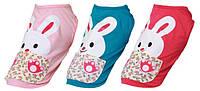 Футболка для животных Добаз , Dobaz Sweet rabbit роза M