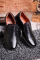 Классические туфли мужские   черного цвета  O-12679, фото 1