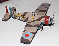 """Модели самолётов 1:72. Американский палубный истребитель """"Grumman F6F (Hellcat)"""". 2-ая мировая война."""