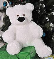 Плюшевый медведь Бублик 43 см белый
