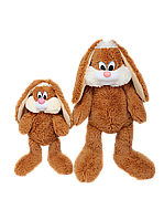 Плюшевый Зайчик Несквик 50 см коричневый