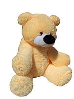 Плюшевая игрушка Медведь Бублик 95 см персиковый