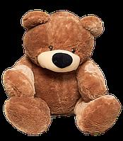 Большая мягкая игрушка Медведь Бублик 180 см коричневый