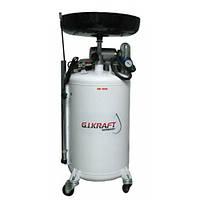 Установка для слива и откачки масла с электронасосом 80л HD-806AC GIKRAFT