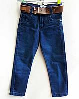 Детские джинсы для мальчиков 1-4лет Синие Турция