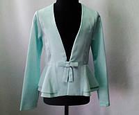 """Нарядный пиджак """"Лорэн"""" для девочек 6-13 лет (р. 32-42)."""