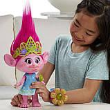 Інтерактивна іграшка Тролі Співоча Поппі Hasbro, фото 5