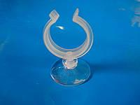 """Присоска силиконовая типа """"рогач"""" №8 с диаметром (3-3.5)см, диаметр прилипающей поверхности 5см"""