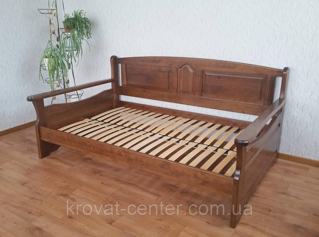 """Деревянная полуторная кровать """"Орфей"""" от производителя"""