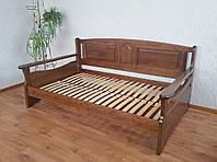 """Кровать полуторная """"Орфей"""". Массив - сосна, ольха, береза, дуб"""