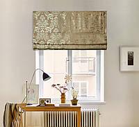 Римские шторы Портьера Вензель V3 1100*1700
