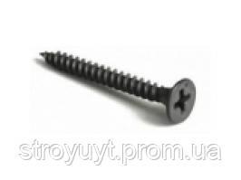 Саморез из закаленного металла для гипсокартона TN 25 (1000 шт)