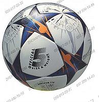 Мяч футбольный EN 3246, размер № 5, ламинированный, 430-450 гр, полиуретан, 2 вида, диаметр 21,6 см