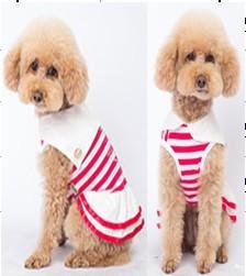 Платье для собак Dobaz Добаз, Cruise красный