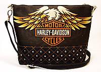 Джинсовая стеганная сумочка HARLEY 3, фото 1