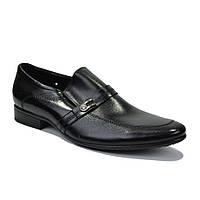 Туфли мужские классические с пряжкой кожа