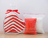 Сердце+песок для песочной церемонии №2, фото 1