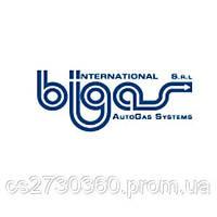 Редуктор Bigas RI.27 (метан) 4-е пок., 204 л.с. (150 кВт) с ЭМК газа, вход D6 (M12x1), выход D8, шт
