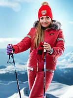 Зимний костюм большого размера женский, фото 1