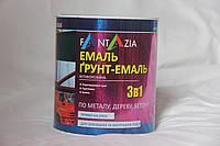 Грунт-эмаль 3 в 1 УРФ-1101, Fantazia  ( Желтая) 2,6 кг