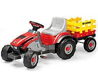Детский педальный трактор Peg-Perego IGOD0529 Mini Tony Tigre 2017
