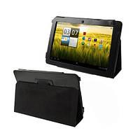 Кожаный чехол книжка для Acer Iconia Tab A200/ A210/ A211 черный 10.1