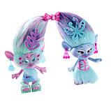 Ігровий набір Тролі Модні близнюки Сатинка і Синелька 23см DreamWorks Trolls Satin and Chenille's, фото 2