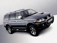 Накладки на пороги Mitsubishi Pajero Sport (2005+)