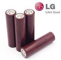 Аккумулятор 18650 Li-Ion LG ICR18650HG2 (LG HG2), 3000mAh, 20A, 4.2/3.6/2.5V, шоколадки