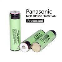 Аккумулятор 18650 Li-Ion Panasonic NCR18650B Protected, 3400mAh, 6.8A, 4.2/3.6/2.5V