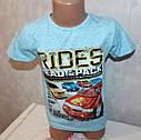 Летняя футболка на мальчика 5,6,7,8 лет 100 % хлопок (Турция), фото 2