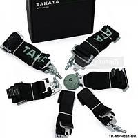 Ремни безопасности TAKATA MPH black