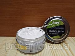 Білий крем для взуття Kaps