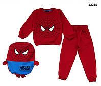 Костюм Spiderman с рюкзаком для мальчика. 4-5; 5-6; 8-9 лет