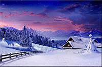 Светящиеся картины Startonight Снежные Горы Дерево Природа Пейзаж Печать на Холсте Декор стен Дизайн дома Инте