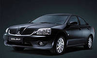 Накладки на пороги Mitsubishi Galant (2006+)