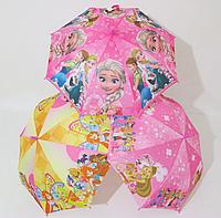 """Подростковый зонт для девочек  5-10 лет """"Frozen"""" (Холодное сердце),Winx (Винкс)"""