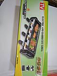 Электрический гриль-барбекю Electric and Barbecue Grill HY9099А, домашний электрогриль, фото 5