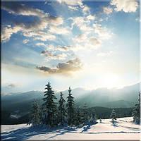 Светящиеся картины Startonight Горы Зима Природа Пейзаж Печать на Холсте Декор стен Дизайн